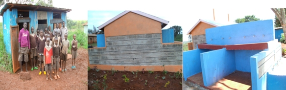 Mutundu school latrines