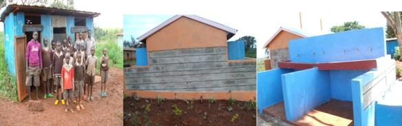 Mutundu school latrines