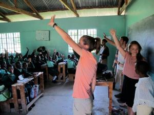 QHO students visited several schools and community groups in the Nyatike region in 2012.