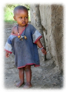 African Child - can you overlook her needs?