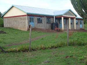 This classroom was constructed in early 2013 at Hope School, Mbita with CanAssist funding (helped greatly by the Sasamat Foundation)