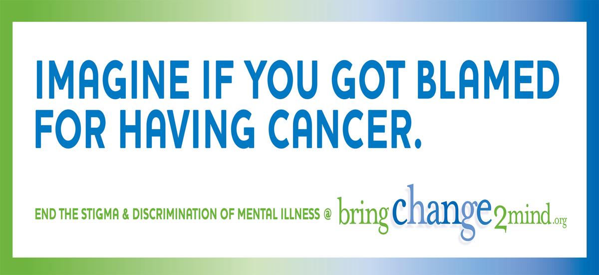 Stigma In Mental Illness Here BC2M Billboard B