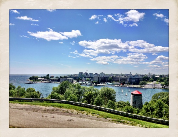 Kingston from the Fort Henry Hill