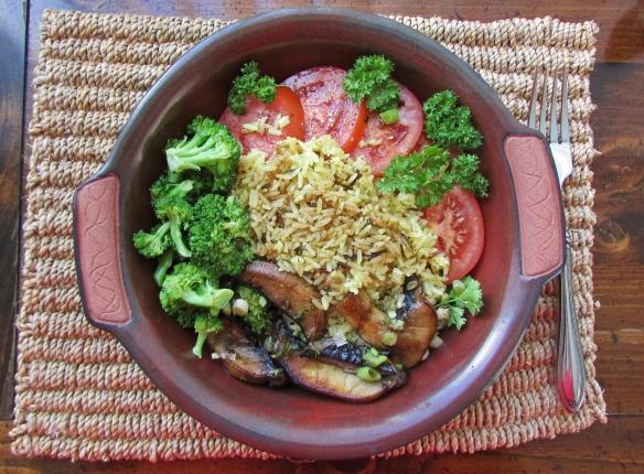 Portob and rice