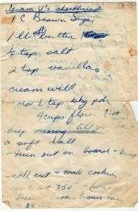 Grandma Vardon's Shortbread