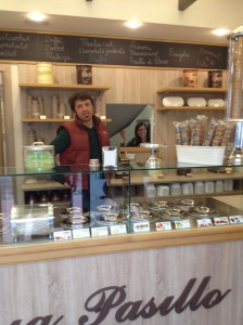 My friend Antonio has opened a gelateria in Sassuolo, Italy.