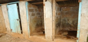 I have asked this question before. Would you want your kids (or you if you are a teacher at this school) using these latrines?