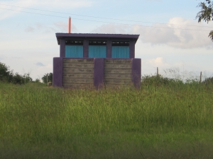 New CanAssist-funded teachers' latrine at Twiga School.