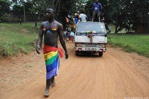 Pride parade in Uganda