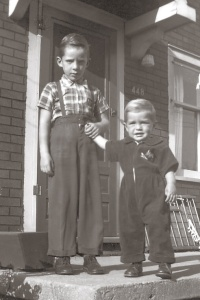 Johnny and Bobby  late summer 1953.