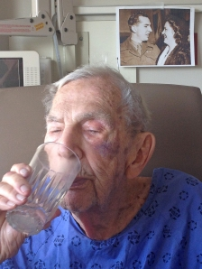 Whether it is a pre dinner gin and tonic or life itself, Dad is working on savouring it to the last drop.