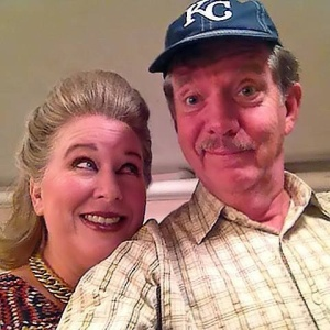 Mattie Fay and Charlie Aiken in Kings Town Players production of August: Osage County