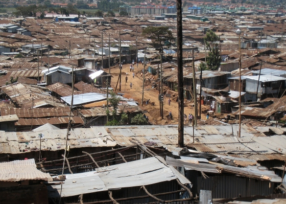 Slums in Africa house millions of people with little access to health facilities, clean water or sanitation. How would you contain it if an Ebola strikes here?
