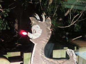 Rudolph as brightened a family yard now for almost 60 years!
