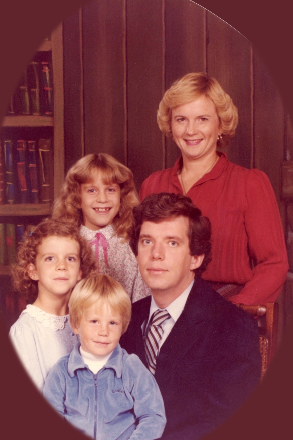 The fam.  1986