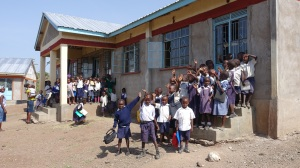 This is a classroom constructed by CanAssist in 2012. The school still lacks complete furnishings for these classes.
