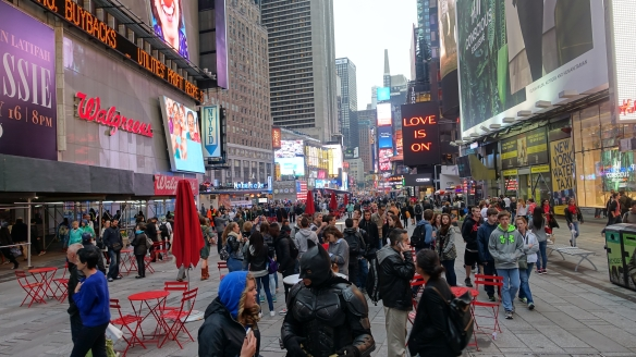 Times Square – Always busy