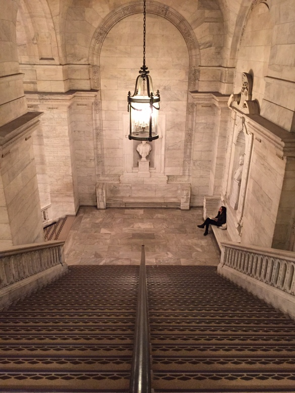 Inside the New York Central Library