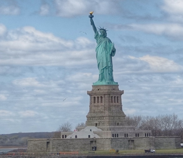 Statue of Liberty - photo from the Staten Island Ferry