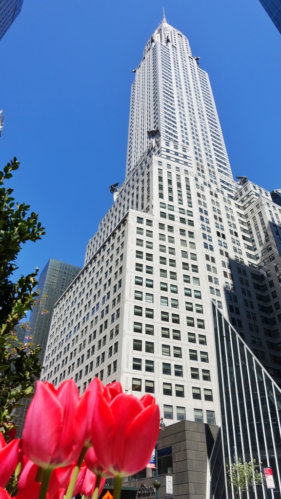 Chrysler building from 42nd St