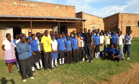 CanAssist African Field Representative, Daniel Otieno visited the school in May 2015 to confirm project details.