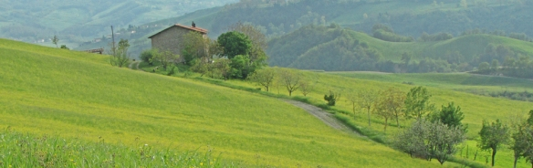 The hills by San Michele, Italy