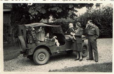 SP Geddes in Holland 1945
